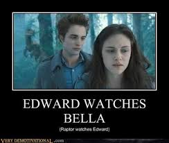 Look, I'm watching Twilight!